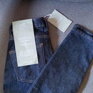 Everlane Highrise Skinny ankle length sz 25